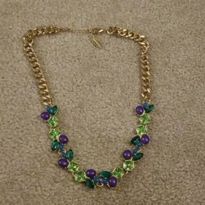 Coldwater creek crystal statement necklace